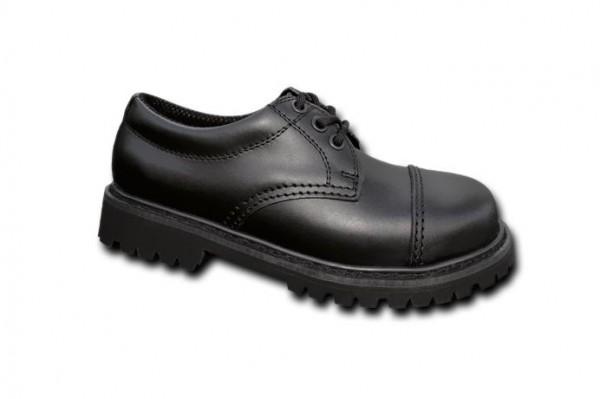 Brandit Phantom Boots 3 Loch schwarz gross