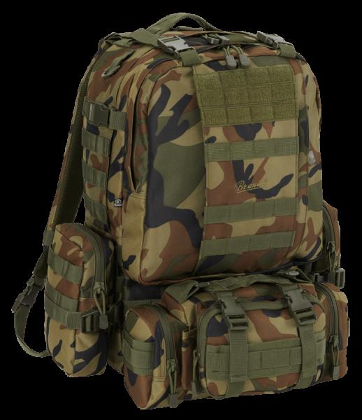 Brandit US Cooper Modular Pack 45L woodland vorn - armyoutlet.de