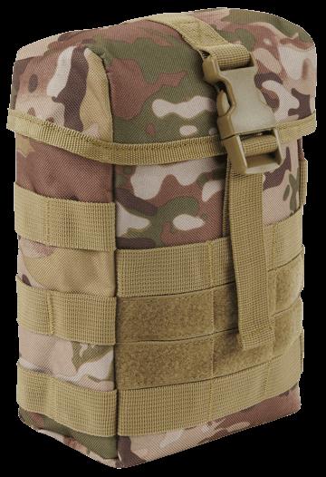 Brandit Molle Pouch Fire tactical camo vorn - armyoutlet.de
