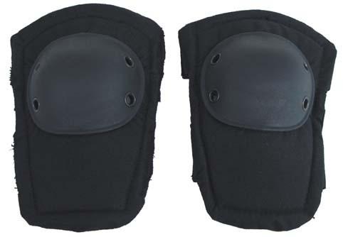 Ellenbogenschützer aus Spezialschaum schwarz