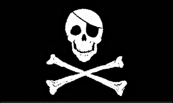 Flagge Jolly Roger 90 x 150 cm