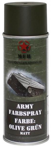 Army Farbspray oliv grün matt 400ml