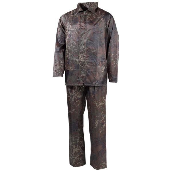 Regenanzug Jacke und Hose Polyester