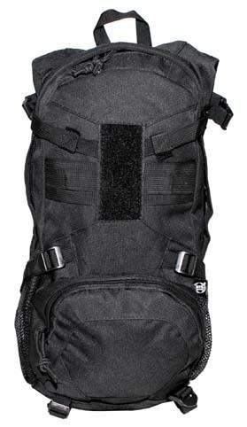 MFH Combat Rucksack 12 Liter schwarz vorn
