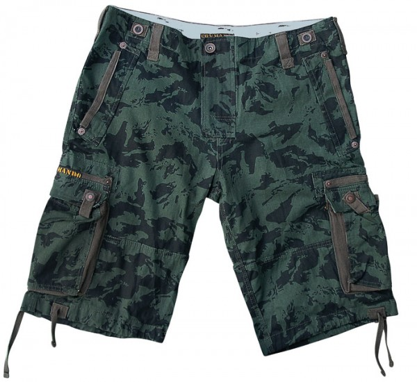 Vintage Shorts Everglades Army