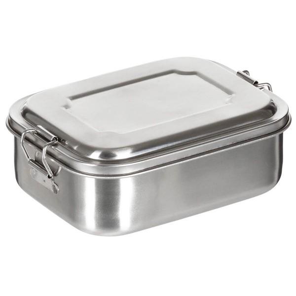 Lunchbox Edelstahl 750 ml - geschlossen - armyoutlet.de