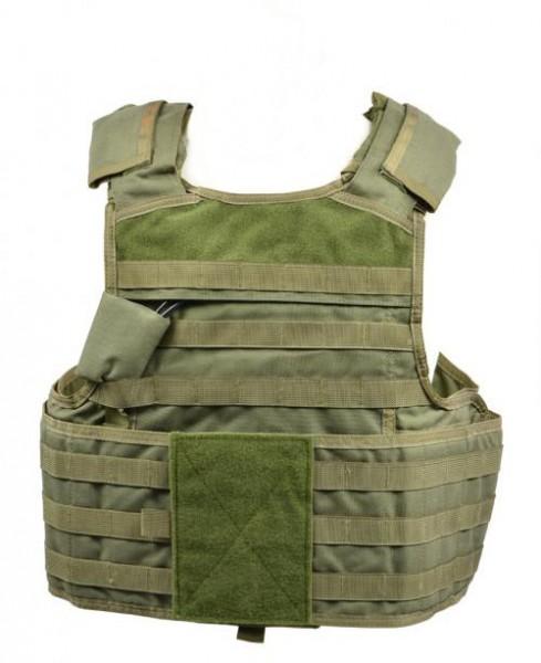 MSA Paraclete Body Armour Vest vorn - armyoutlet.de