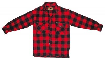 McAllister Holzfällerhemd Karohemd rot S