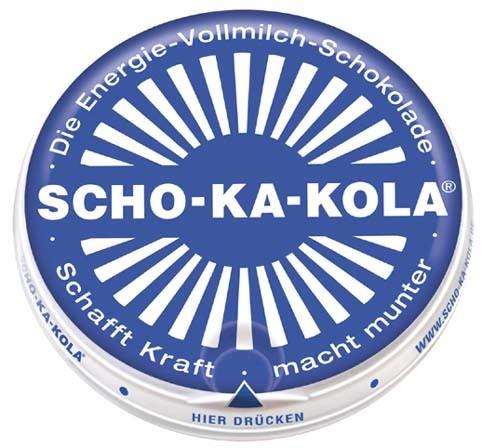 Scho-Ka-Kola Energie Schokolade 100g