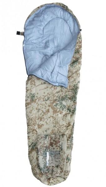 Mumien-Schlafsack extra lang groß tropentarn