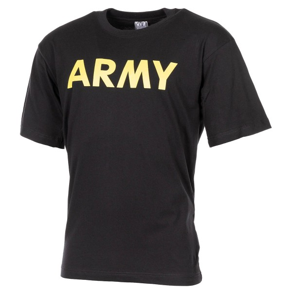 T-Shirt mit Army Brustdruck