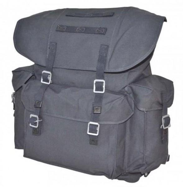 THW Rucksack mit Tragegestell blaugrau