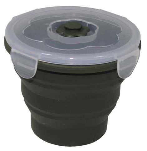 Lunchbox faltbar oliv 660 ml