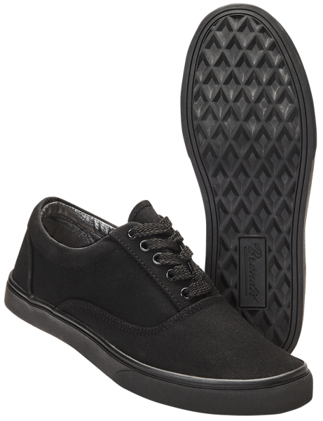 Brandit Bayside Canvas Sneaker schwarz