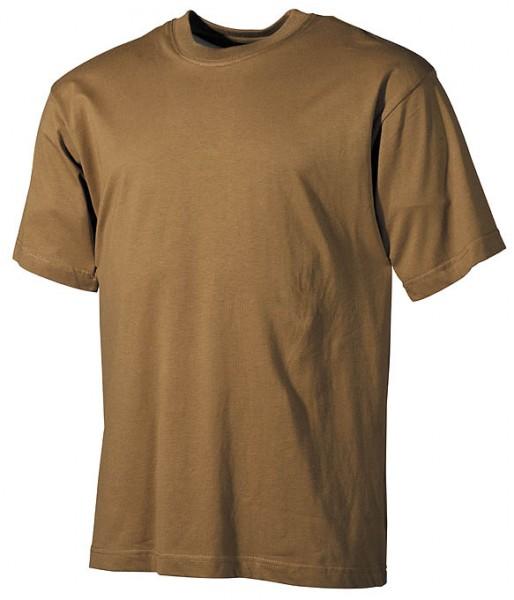 US T-Shirt halbarm coyote
