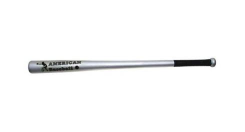 "Baseballschläger Holz 32"" silber"