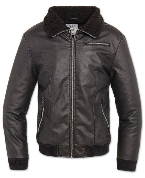 Brandit B52 PU Jacket schwarz