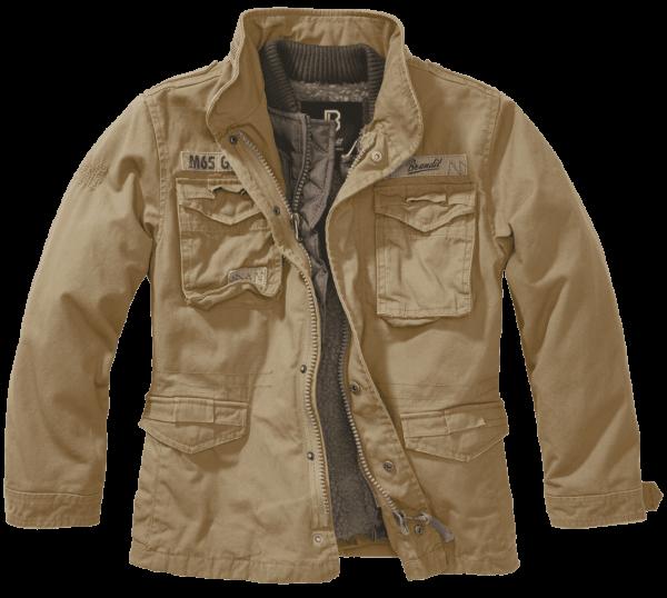 Brandit Kids M65 Giant Jacket - camel - vorn - armyoutlet