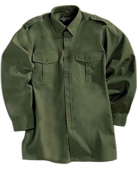 Pilotenhemd langarm