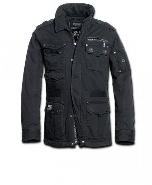 Brandit Jacke Platinum schwarz