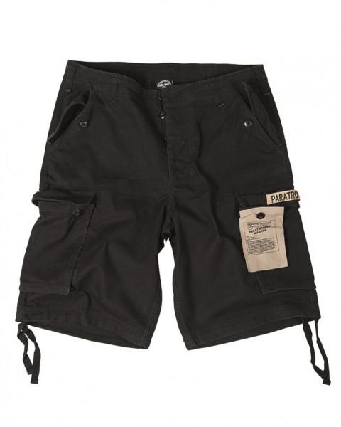 Paratrooper Shorts Prewash schwarz