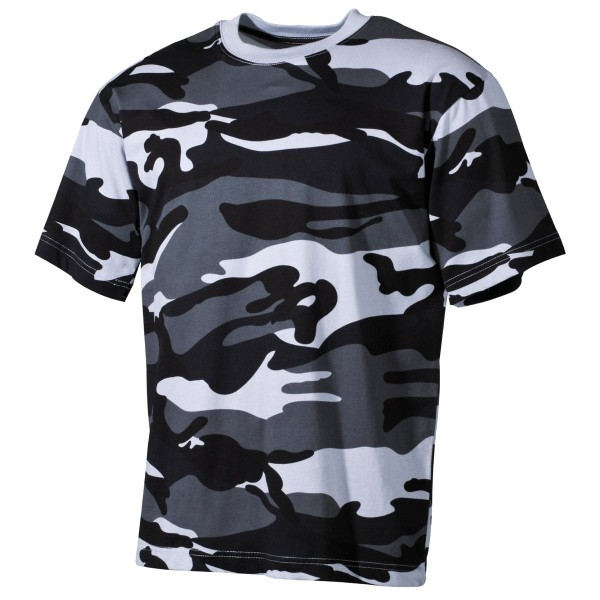 US Army T-Shirt kurzarm tarnfarben