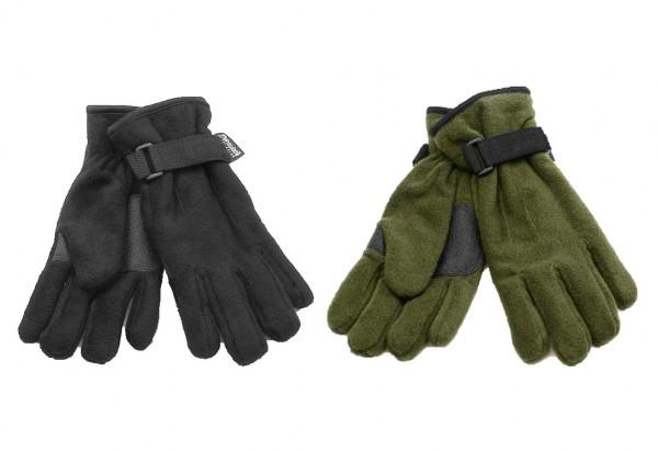Fleece-Handschuhe Thinsulate mit Besatz