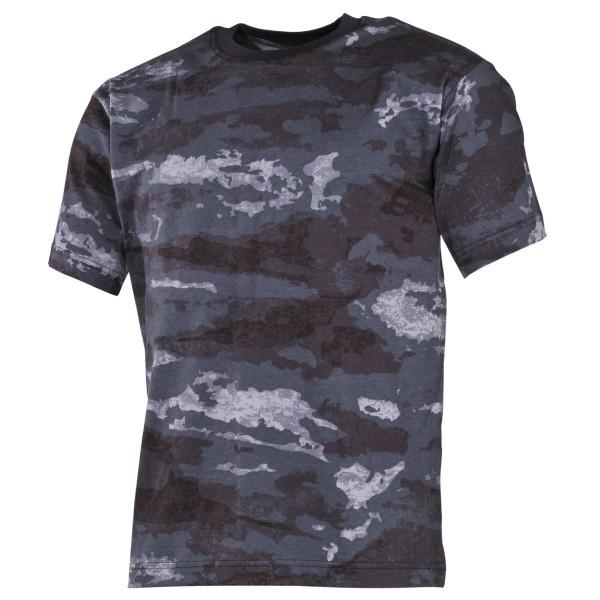 US Army T-Shirt kurzarm HDT-camo