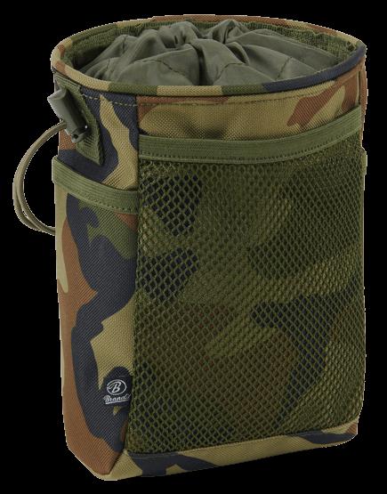 Brandit Molle Pouch Tactical woodland vorn - armyoutlet.de