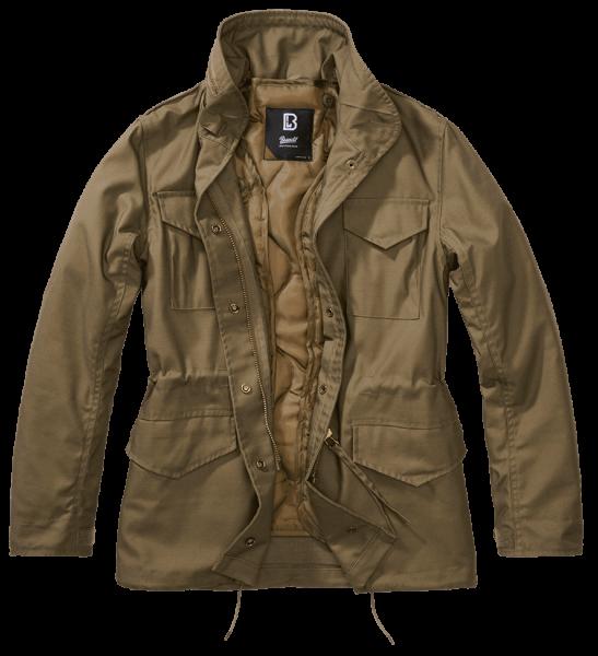 Brandit Ladies M65 Standard Jacket - oliv - vorn - armyoutlet