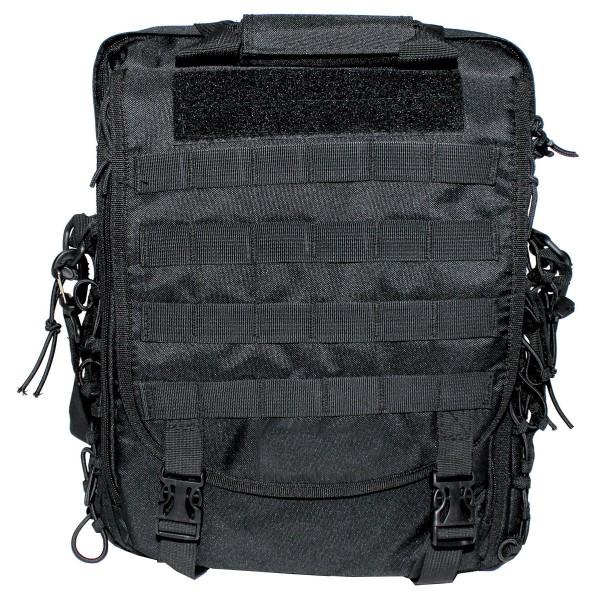 Schultertasche und Rucksack in einem MOLLE