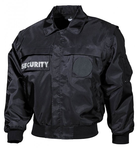 Blouson Jacke Security blau vorn