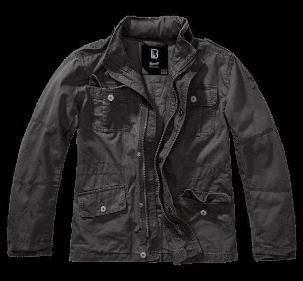 Brandit Kids Britannia Jacket - schwarz - vorn - armyoutlet