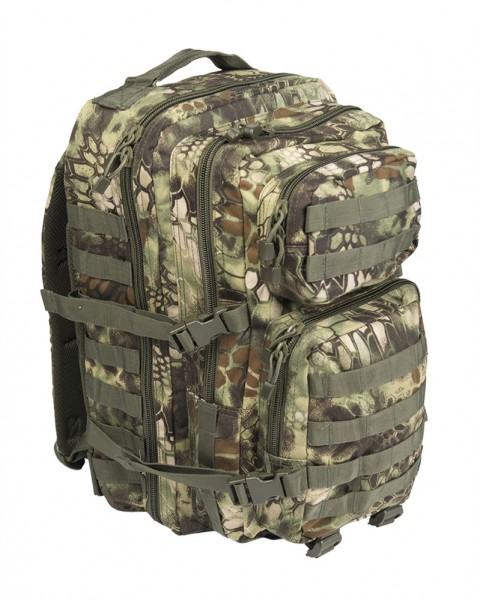 US Assault Pack Rucksack large mandra wood
