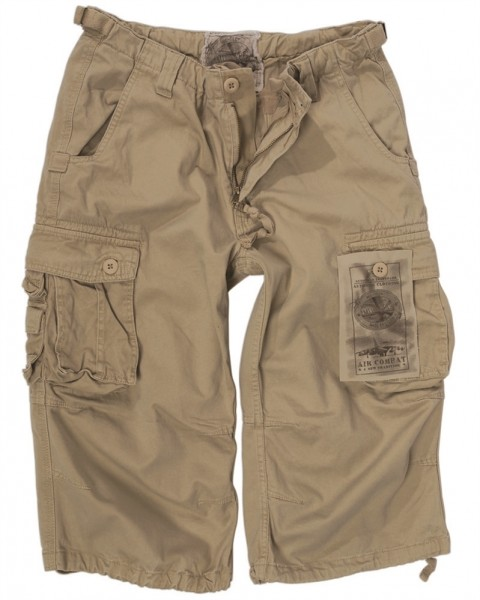 Air Combat 3/4 Pants Prewash khaki