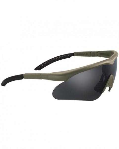 Schutzbrille Swiss Eye Raptor oliv - armyoutlet.de