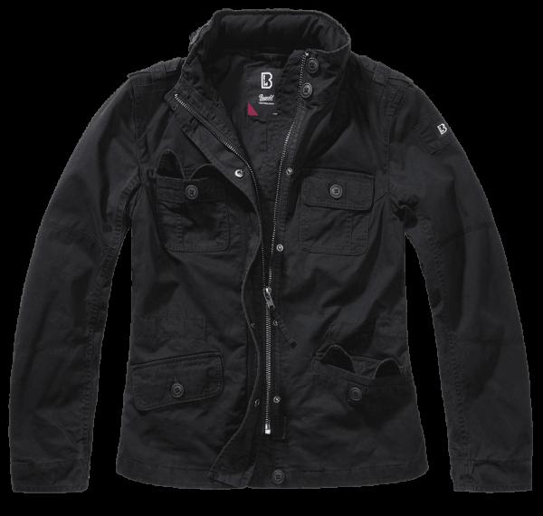 Brandit Ladies Britannia Jacket - schwarz - vorn - armyoutlet