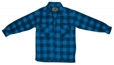 McAllister Holzfällerhemd Karohemd blau M