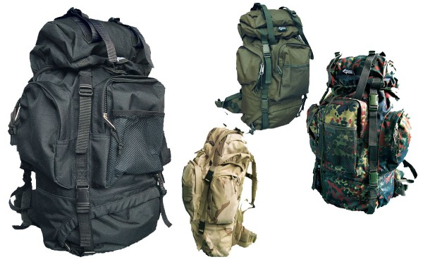 Tactical Rucksack 65 Liter alle Farben