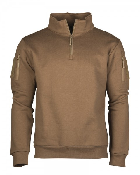 Tactical Sweatshirt mit Zipper