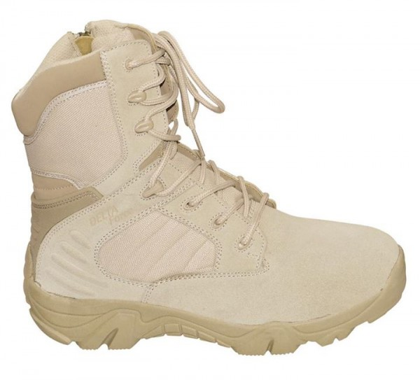 McAllister Tactical Boots Delta Force beige