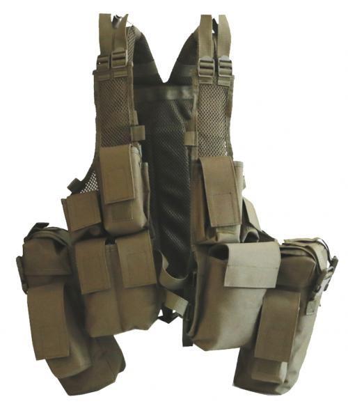 Multifunktions Tactical Einsatzweste oliv armyoutlet