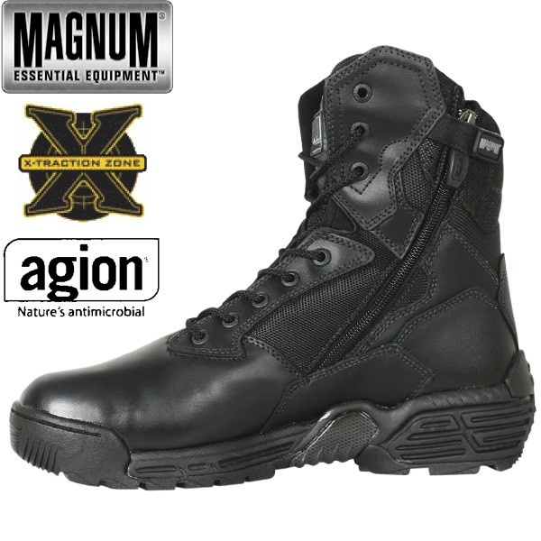 Magnum HI-TEC Boots Stealth Force Side Zip schwarz