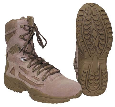 Tactical Stiefel gefüttert coyote tan