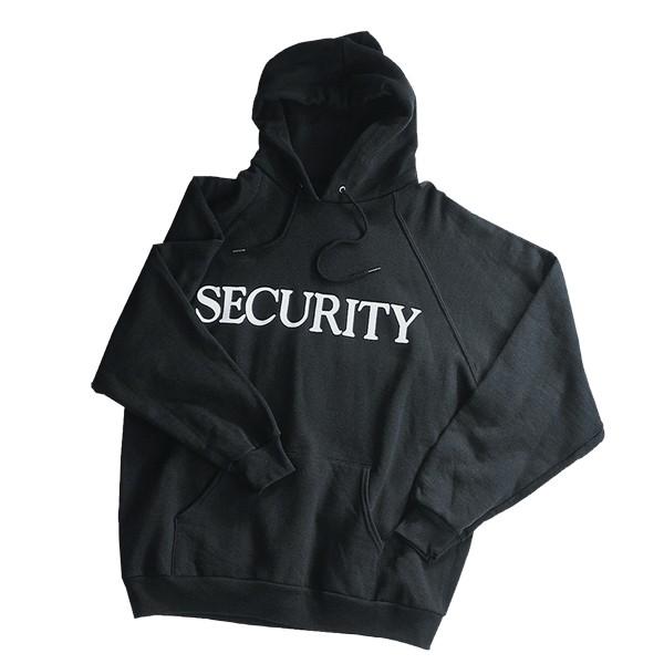 Security Hoodie schwarz
