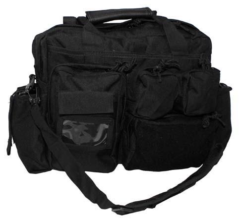Einsatztasche mit Schultergurt schwarz