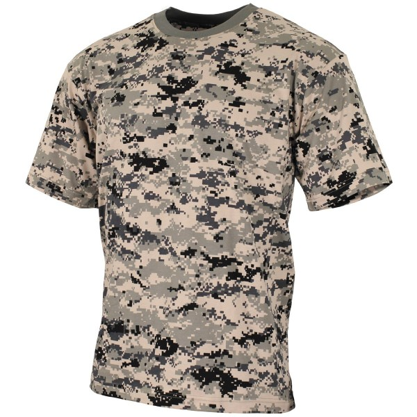 US Army T-Shirt kurzarm digital-tarn