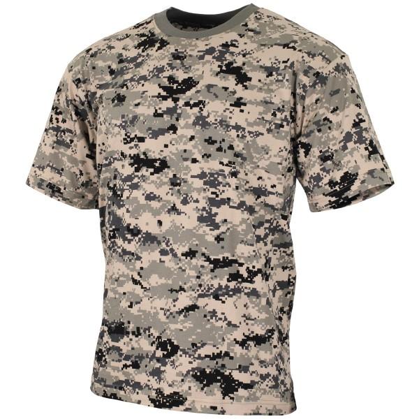US Army T-Shirt kurzarm digital-tarn