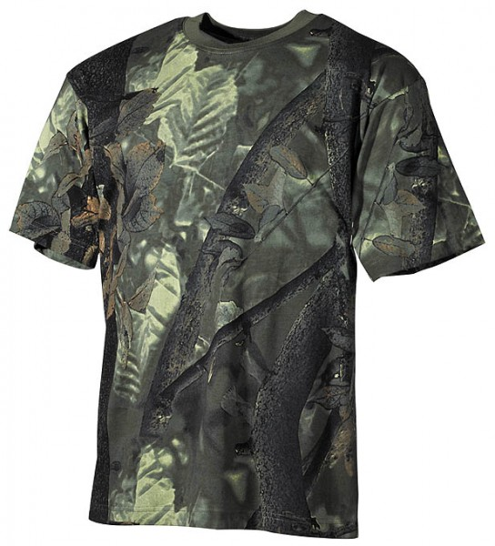 US T-Shirt halbarm hunter green