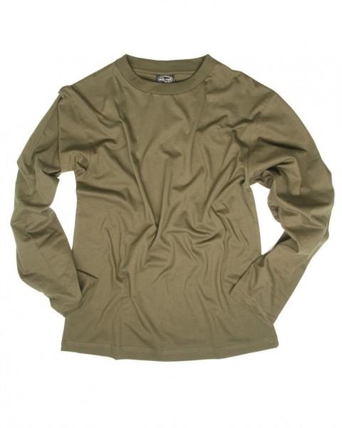 Army Cotton Langarmshirt